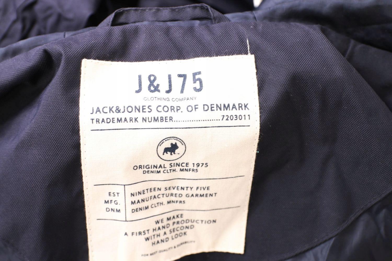 Jack Jones Kurtka Męska Ocieplana Czarna roz M | eBay