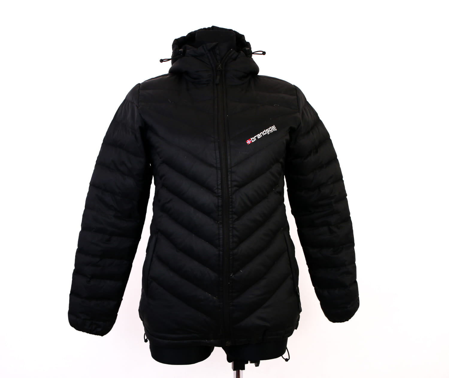 Details about *Brandsdal of Norway Mens Down Jacket Black M