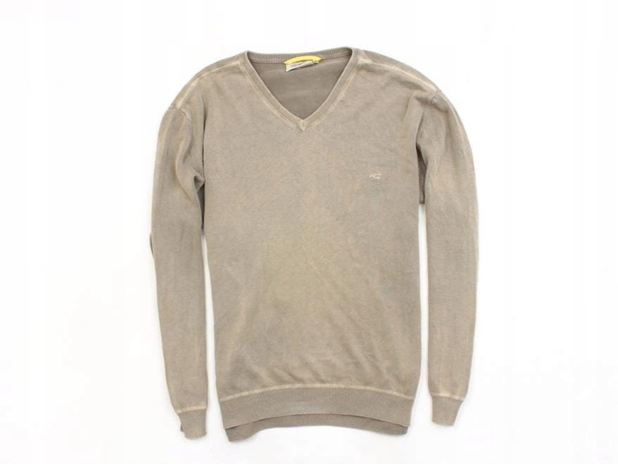 nice cheap the cheapest fashion Details about *A Camel Active Mens Sweather V-Neck Cotton size L
